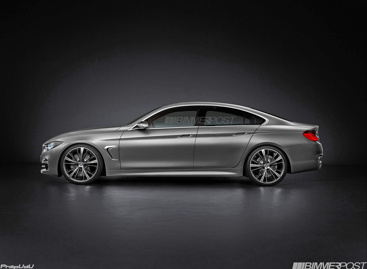 bmw 4 series gran coupe may look this stunning. Black Bedroom Furniture Sets. Home Design Ideas