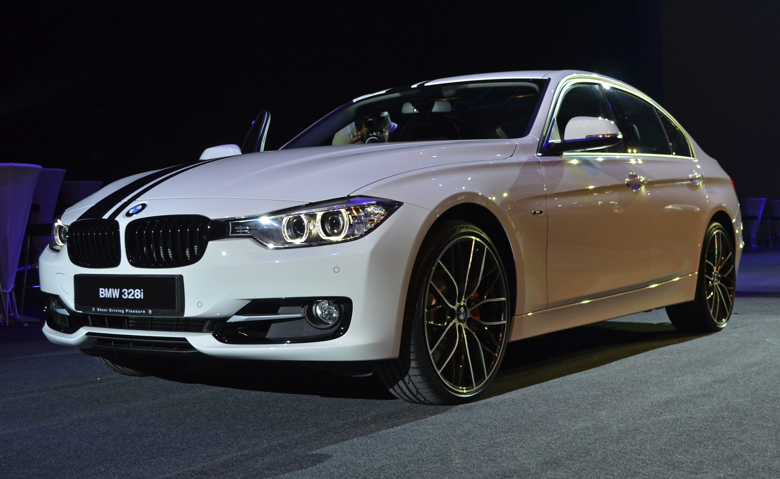 bmw f30 m performance parts shown in malaysia. Black Bedroom Furniture Sets. Home Design Ideas