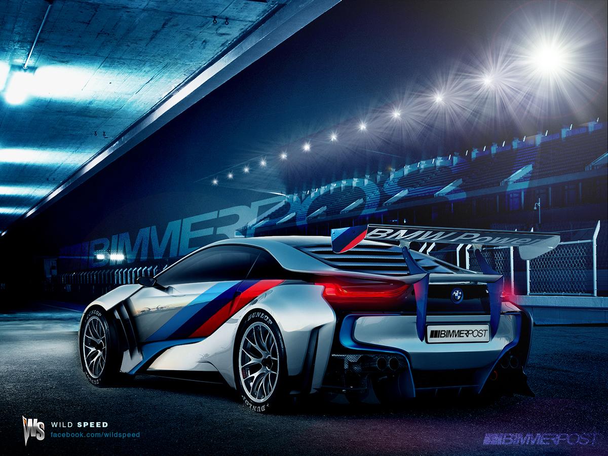 Bmw I8 M Racer Fantasized