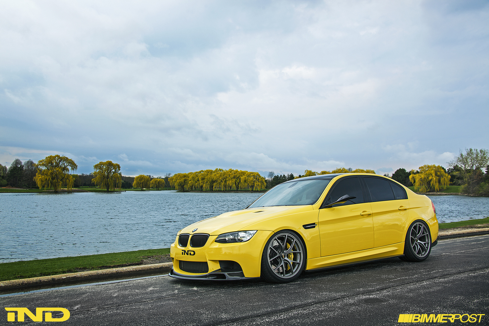 Improving Perfection Powerbeast S Dakar Yellow Bmw E90 M3