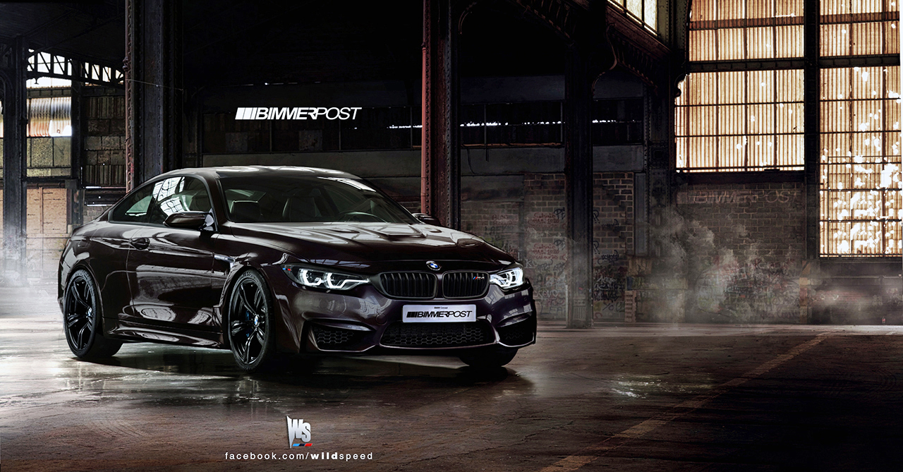 We Picture The Bmw M4 Coupe F82 Based On 4 Series