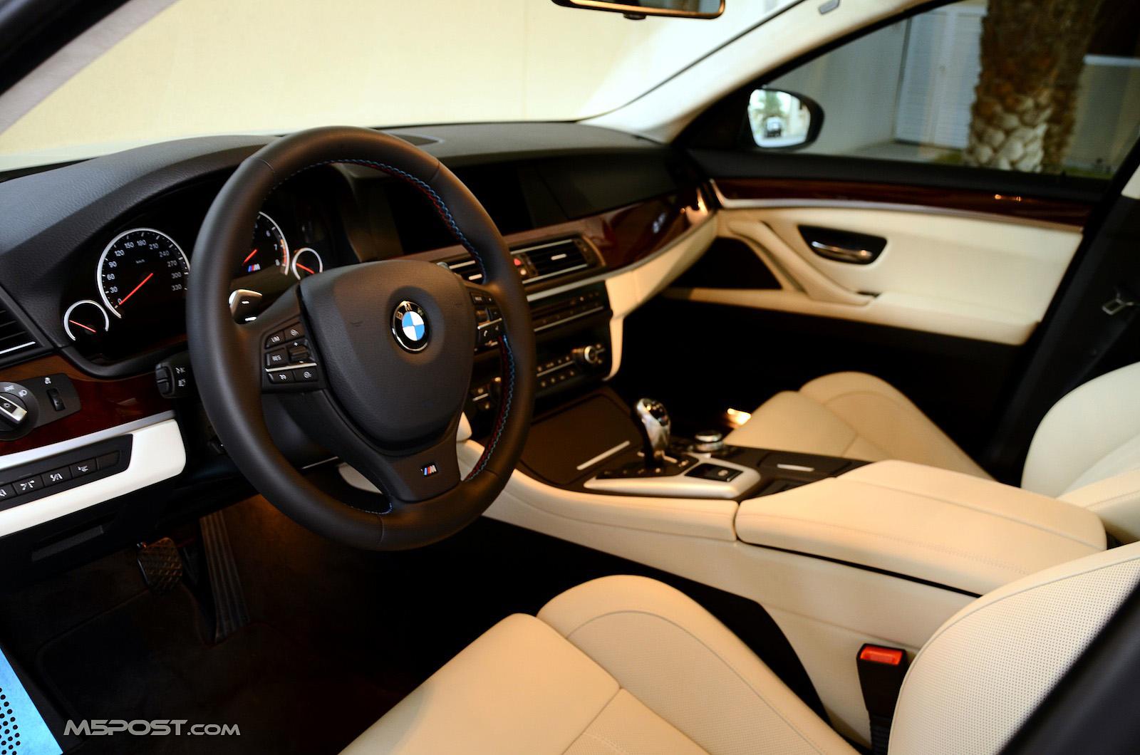 Platinum Merino Or Cohiba Brown M5 Interior Pics