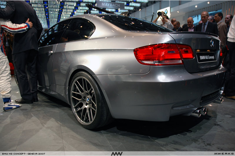 new M3 Concept Coupe -- Large PICS and Observations
