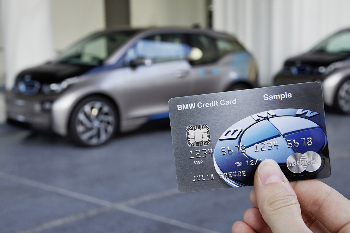 New Bmw Credit Card Also Functions As A Key