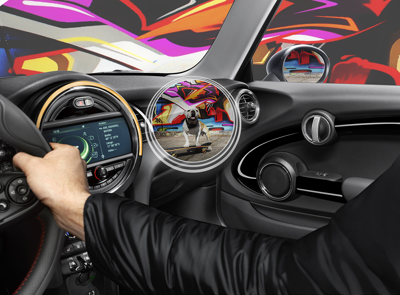 Mini S Augmented Reality Concept Goggles Will See Right Through Your Car