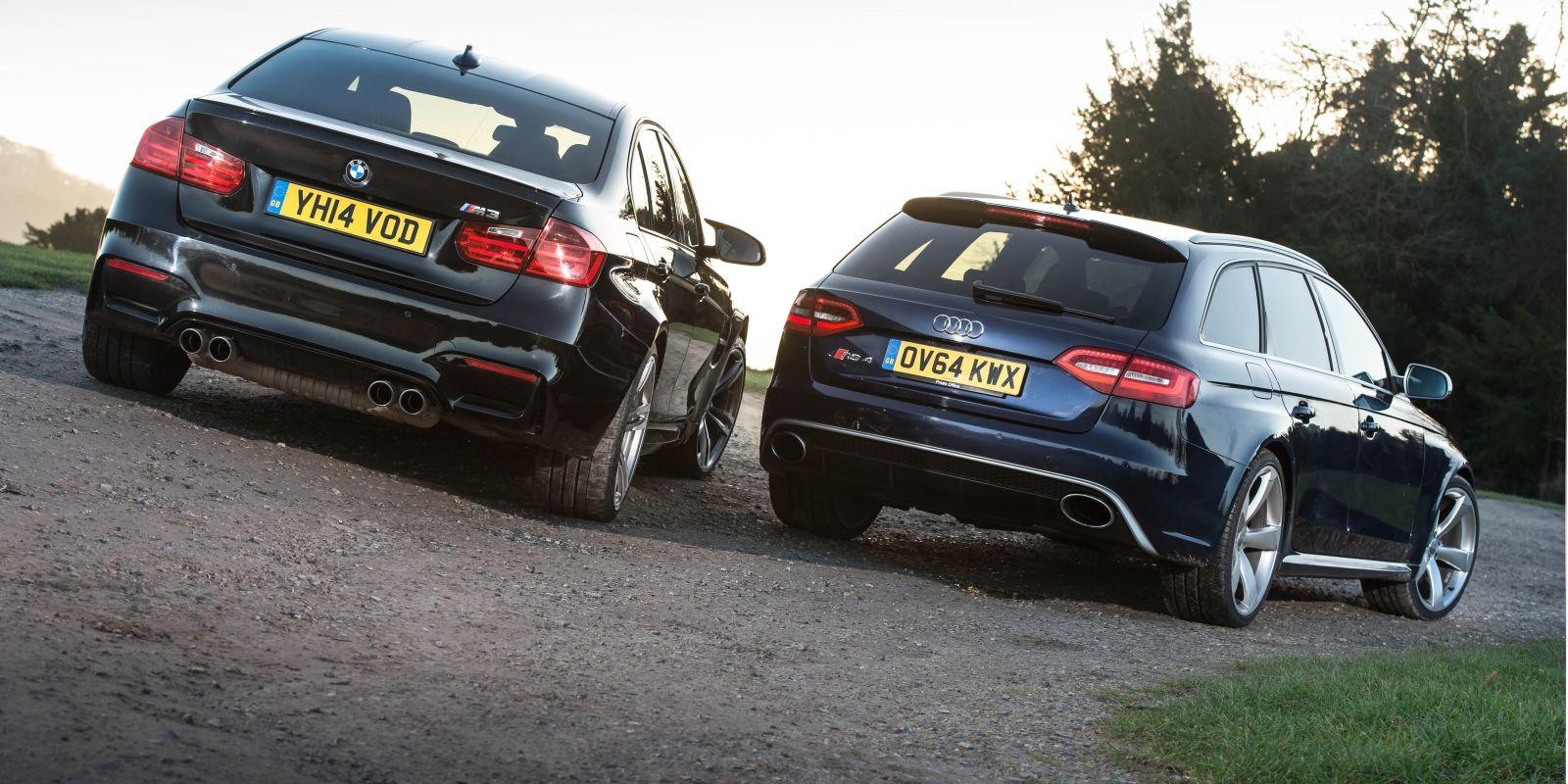 Bmw M3 Vs Audi Rs4 Carthrottle Compares Them