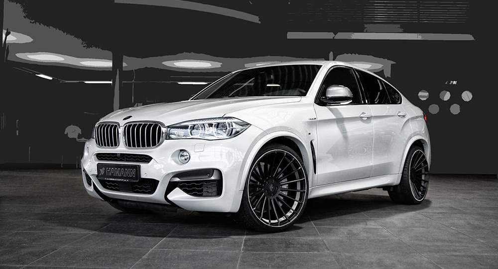 Hamann Does It Again With The F16 Bmw X6