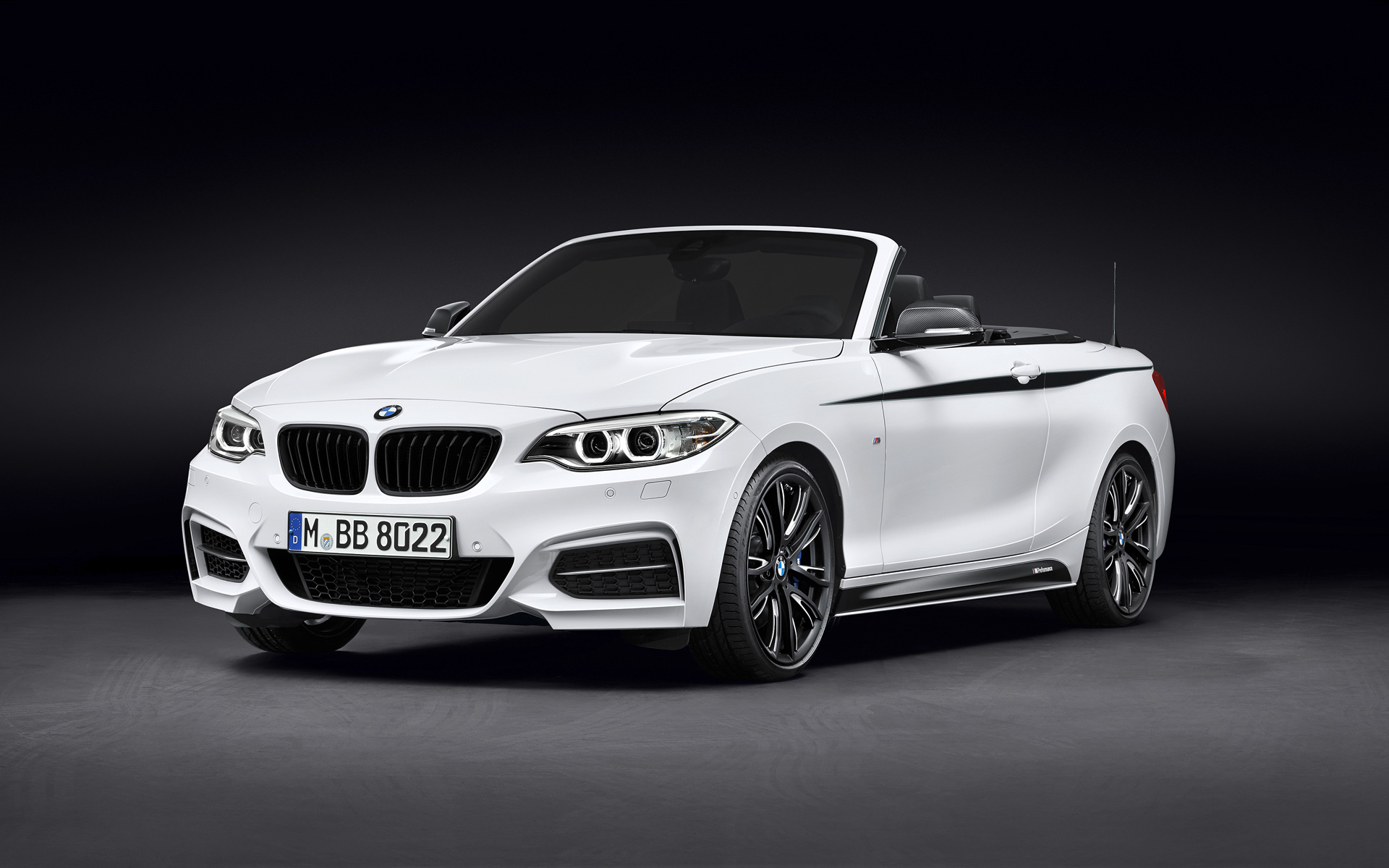Bmw White Convertible F Fe