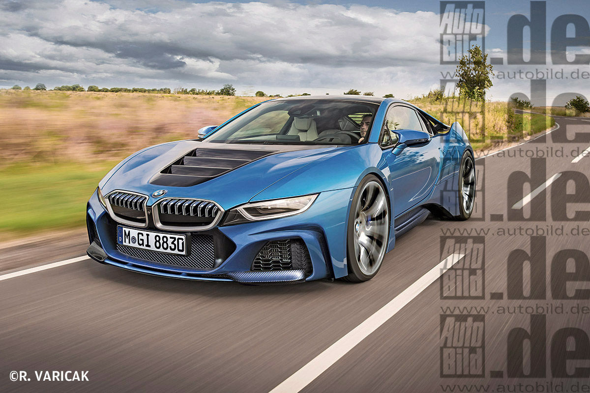 Bmw I8s 500hp 100 Year Anniversary Car Based On I8 And 630hp M8