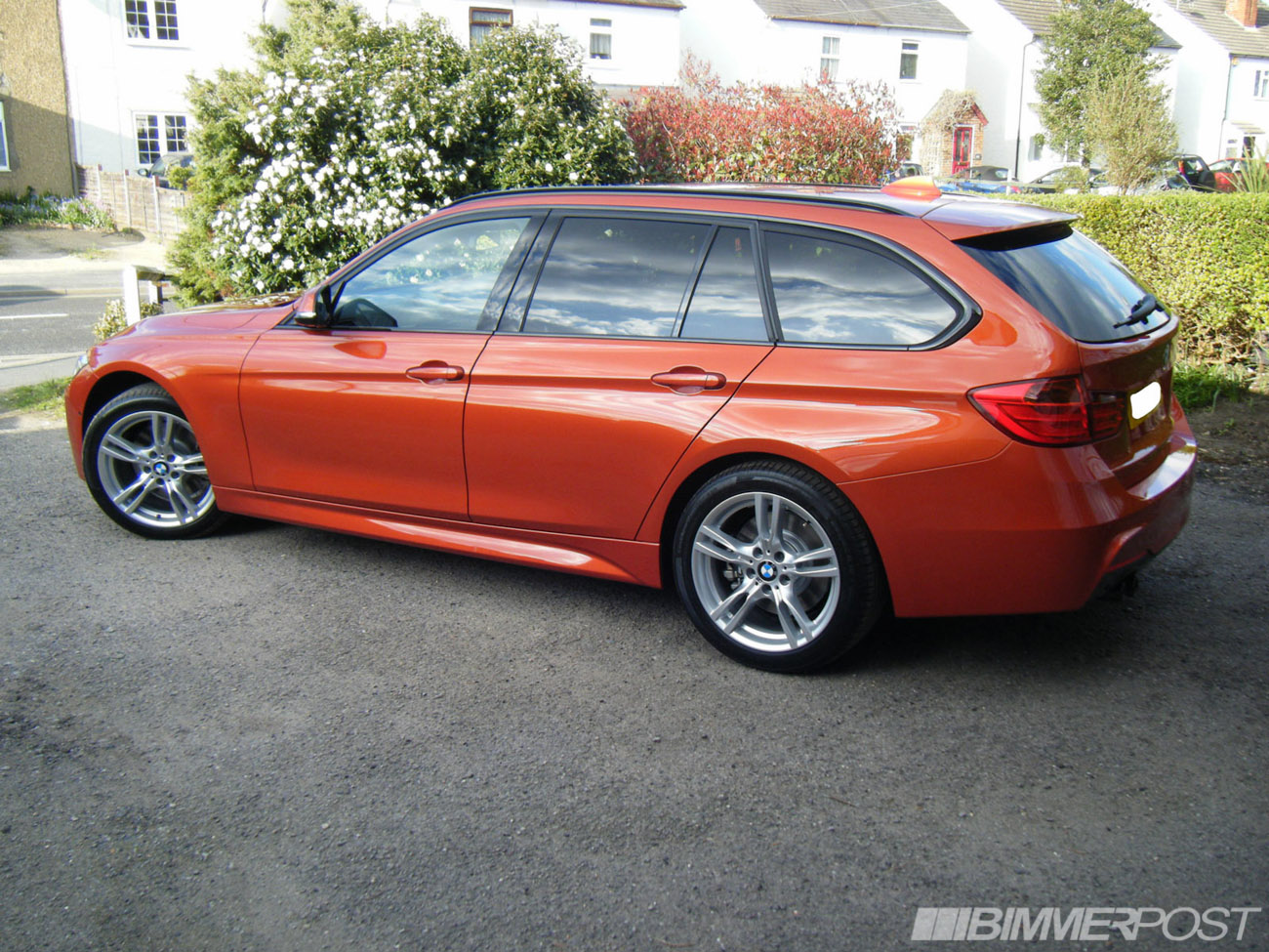 Bmw F31 Touring M Sport In Valencia Orange Individual