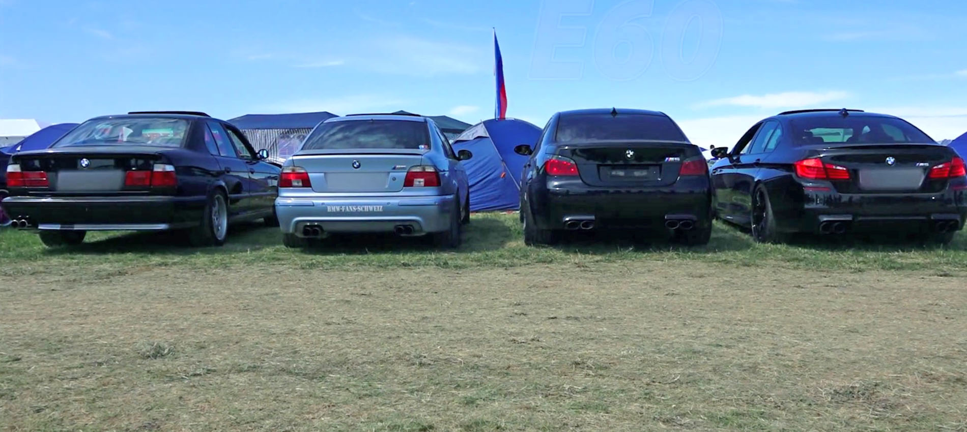 Bmw M5 Exhaust Sound Battle E34 Vs E39 Vs E60 Vs F10