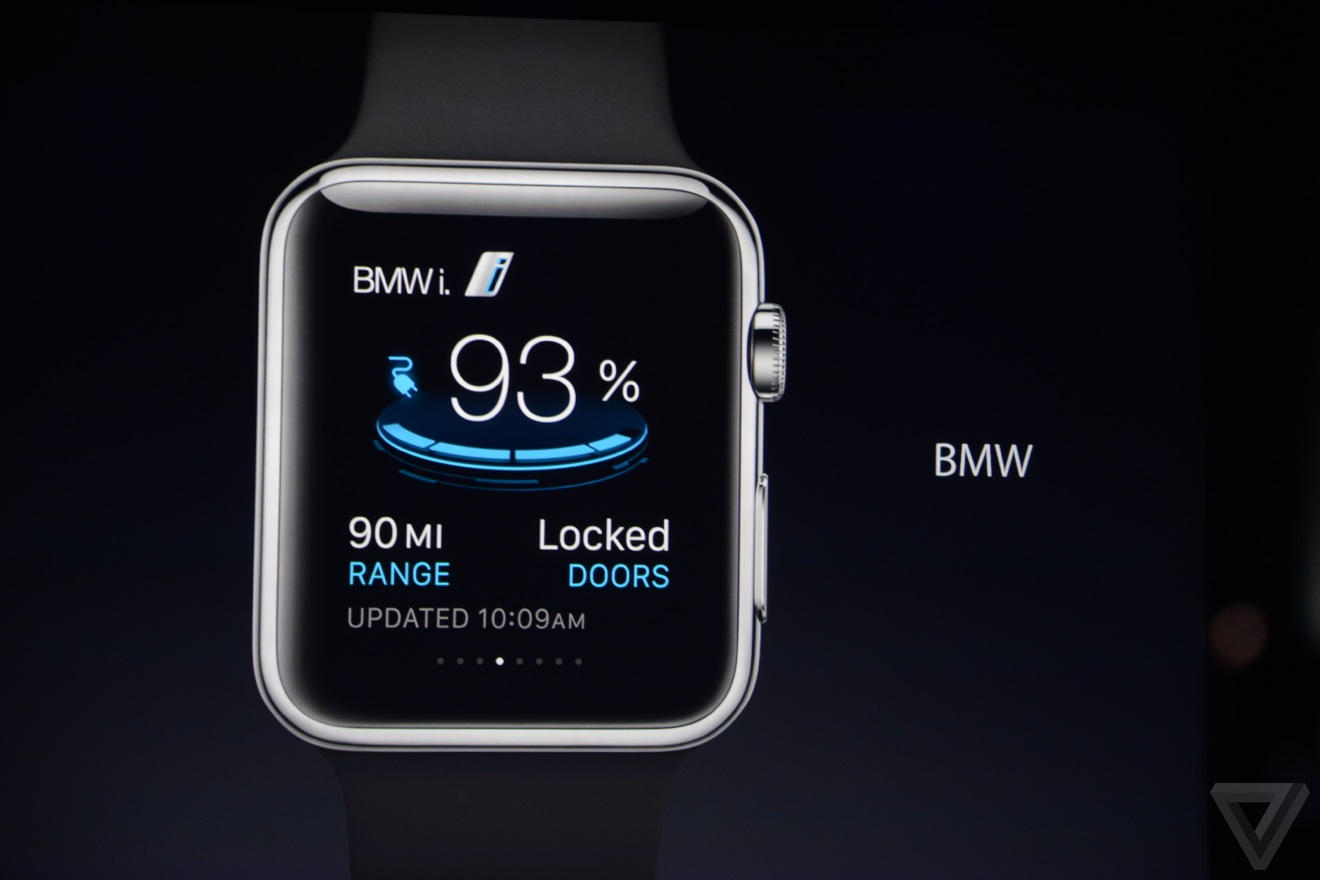 The 1st Apple Watch Car App Will Be Bmw S Iremote