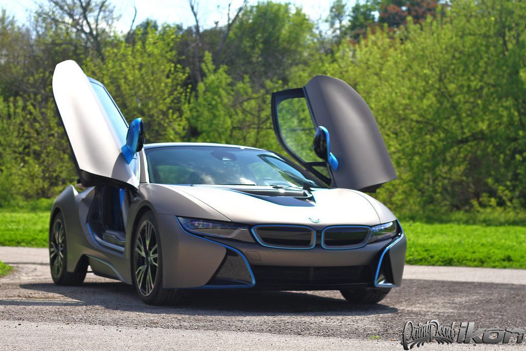I8 Wrapped In Giovanna Edition Matte Metallic Grigio