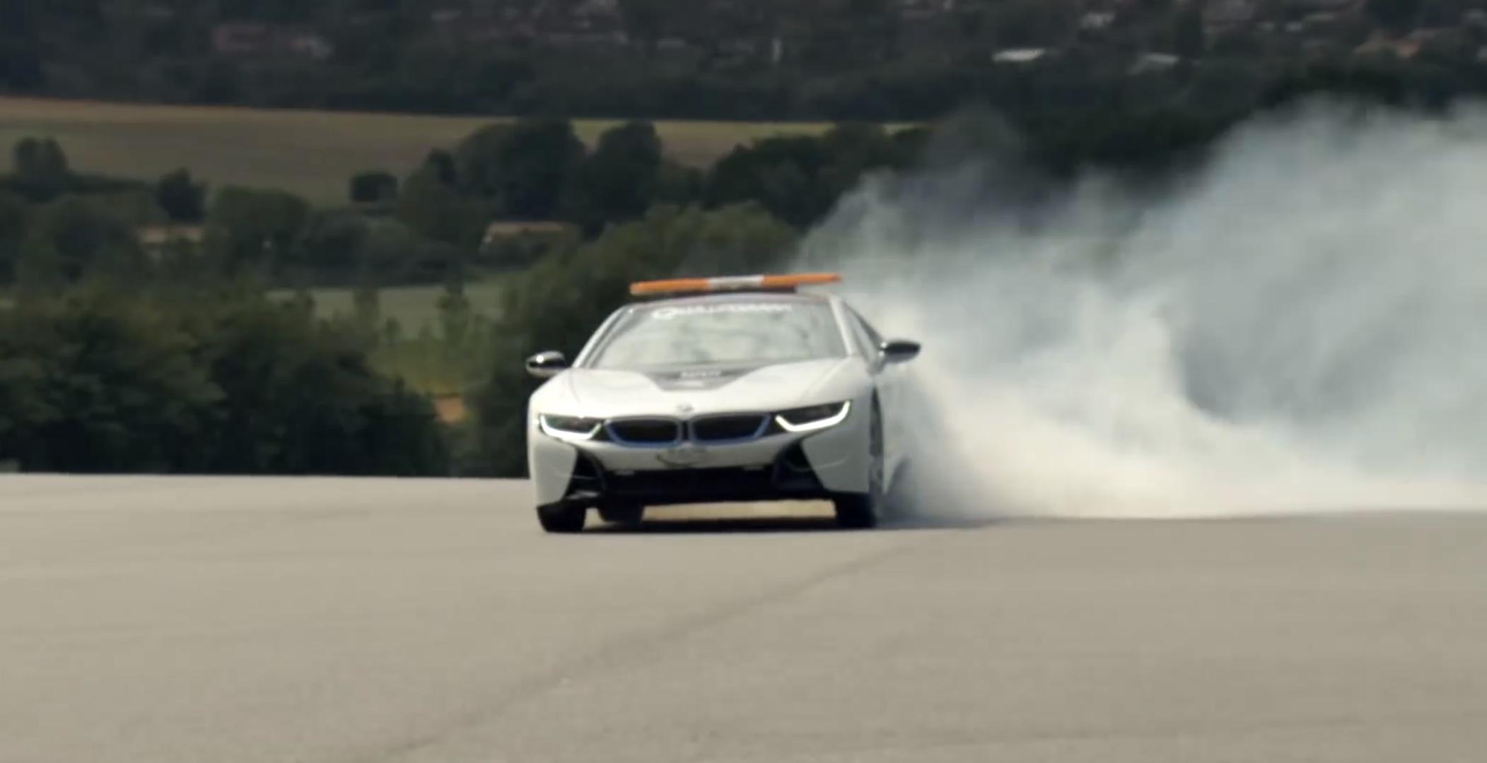Bmw I8 Drifting Video