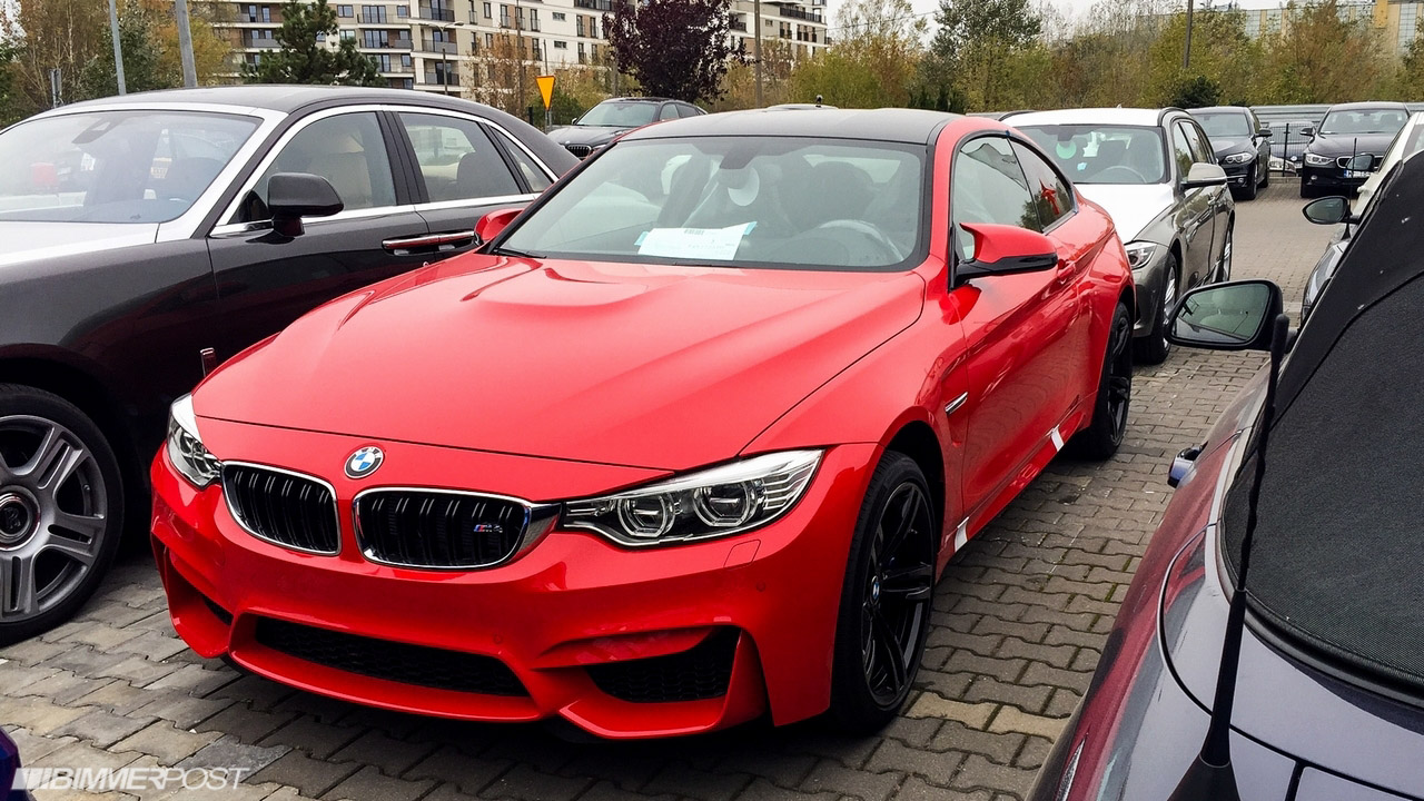Individual M4 In Ferrari Red Color