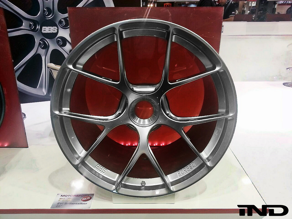 Bbs Fi R Concept Wheels With Relief Holes First Look From Essen Motorshow