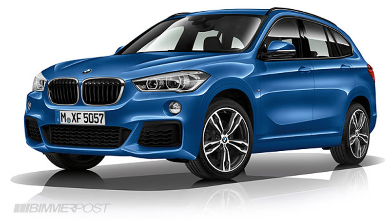 here 39 s the 2016 bmw x1 m sport package. Black Bedroom Furniture Sets. Home Design Ideas