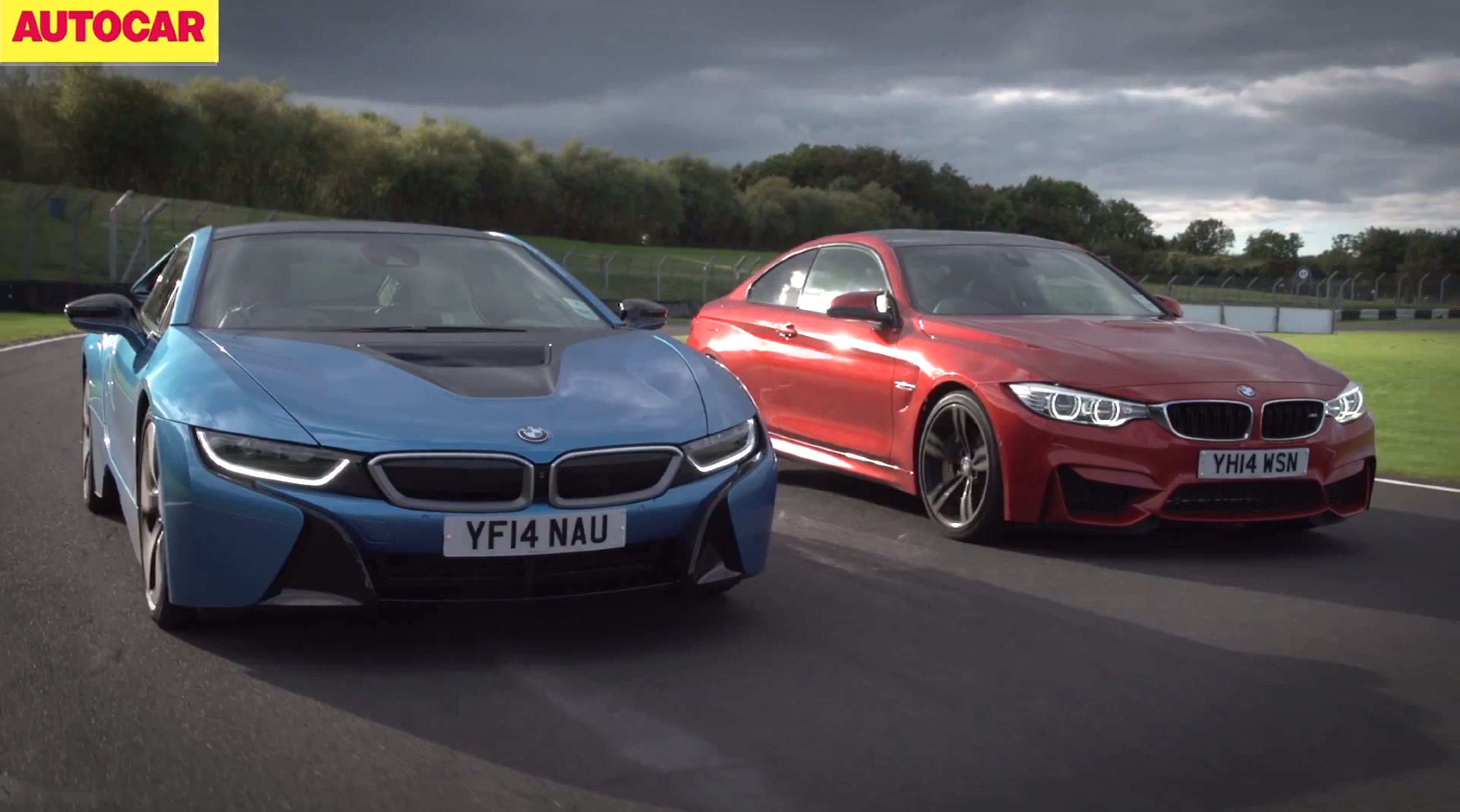 Bmw M4 Vs I8 On The Track By Autocar