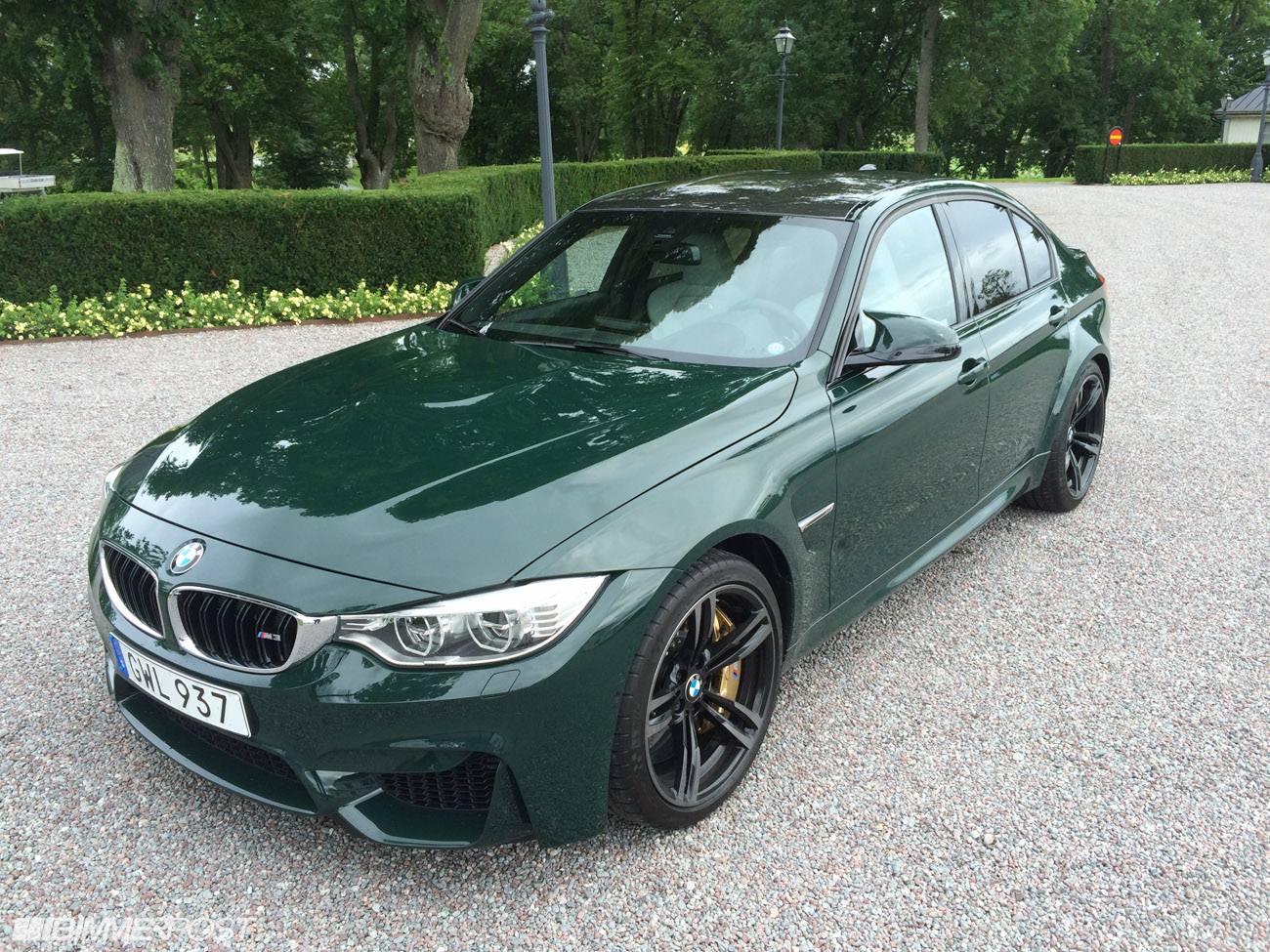 British Racing Green F80 M3 In Sweden