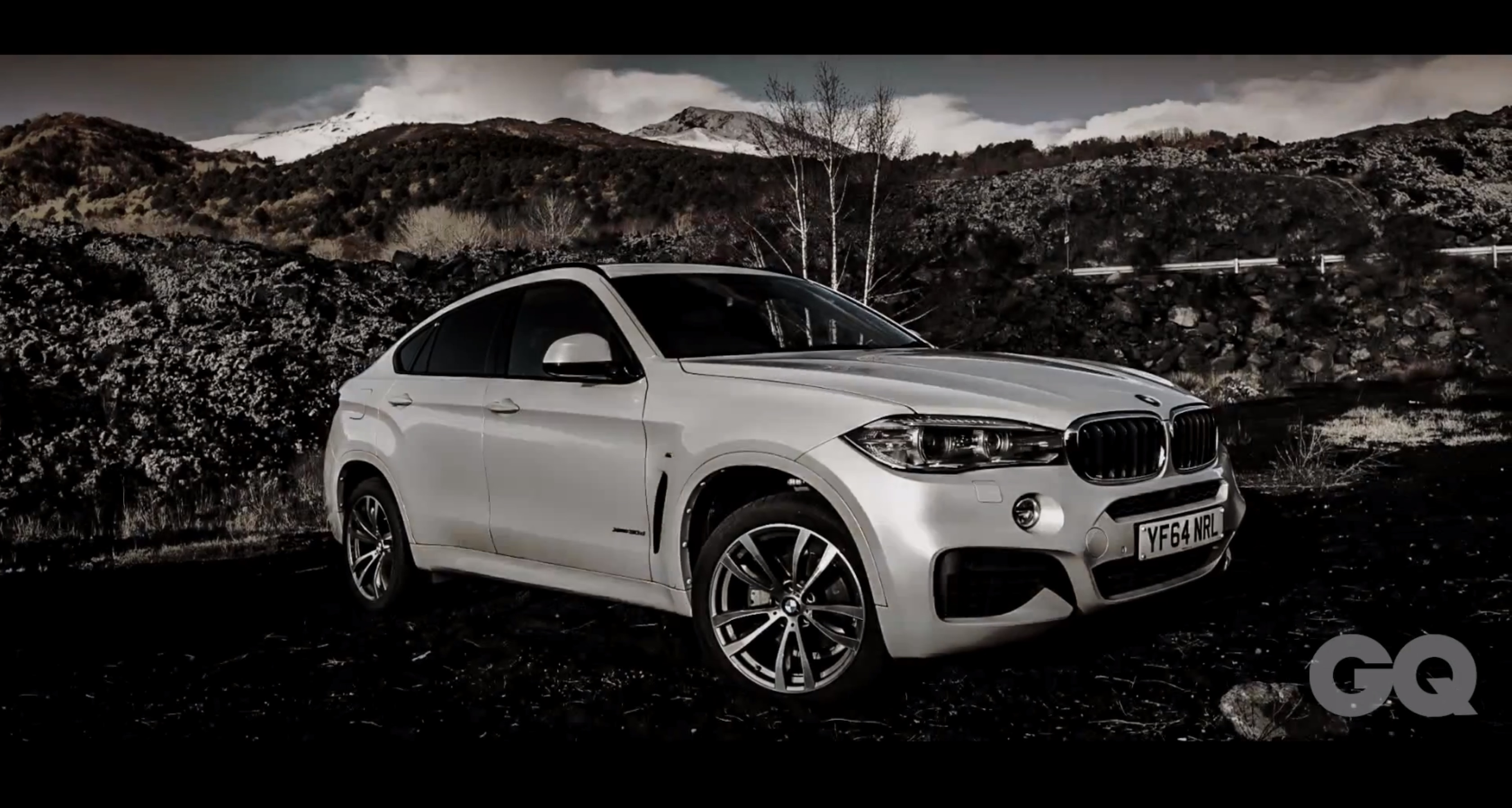 Gq Drives The New Bmw X6 Up Mount Etna