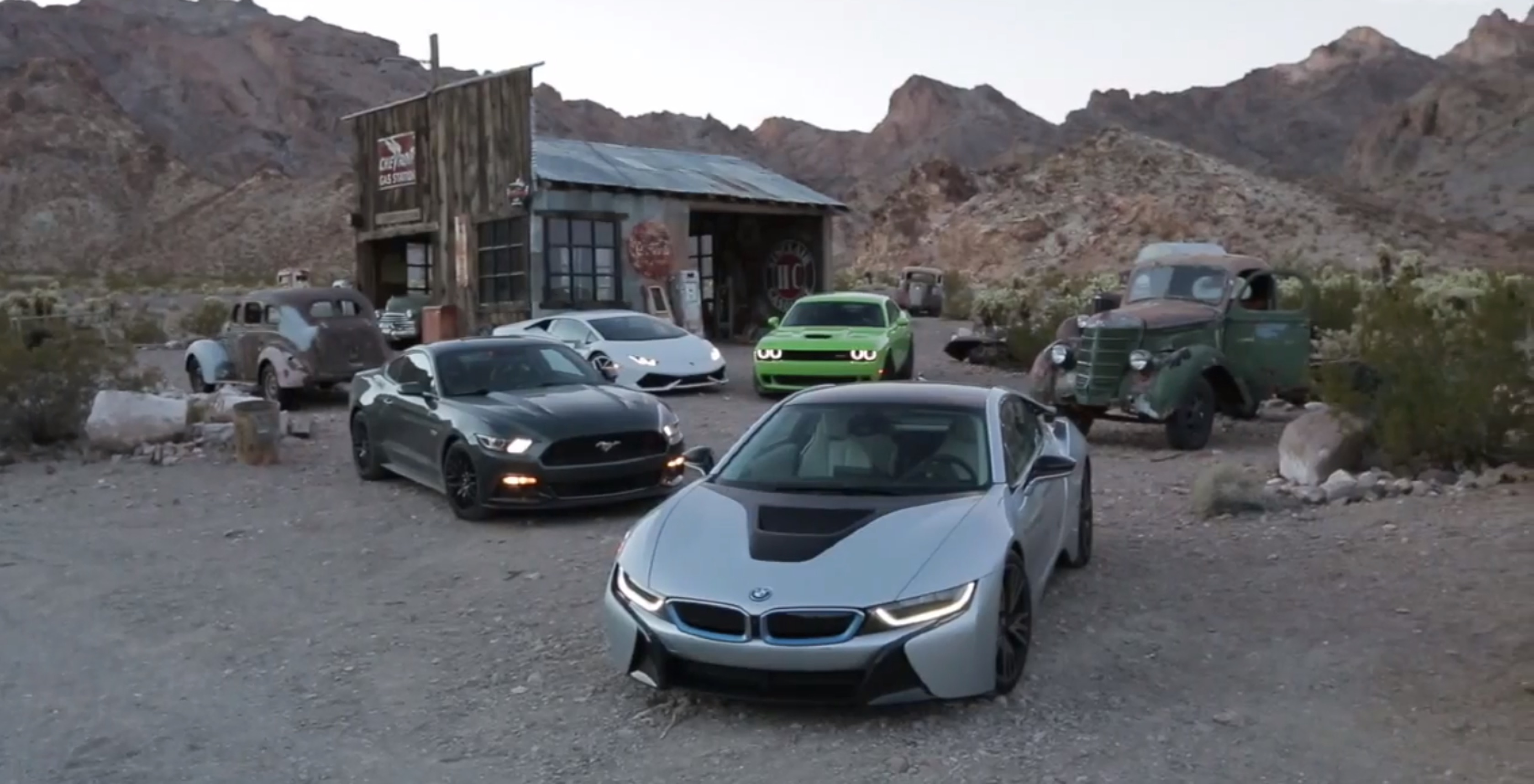 Car S Road Trip Across America In Bmw I8 Huracan Mustang Gt And