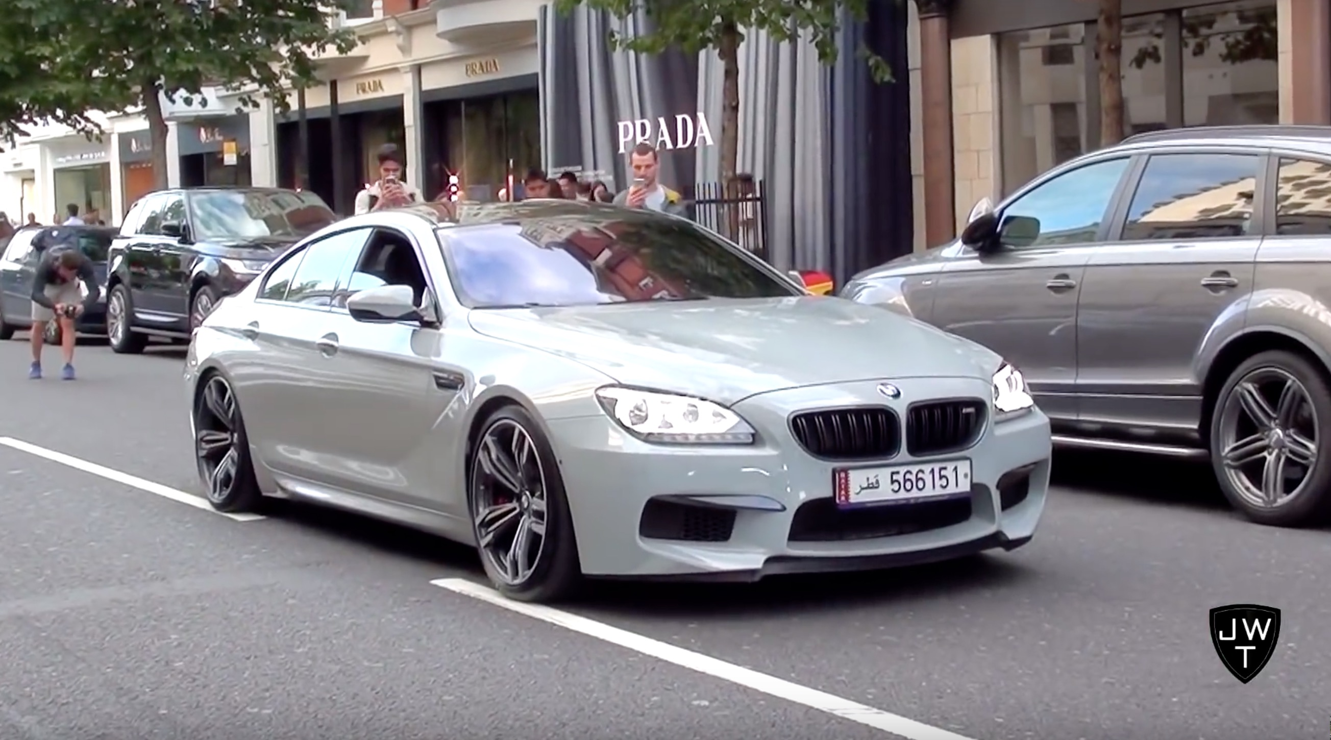 Video Nardo Grey Bmw M6 Gran Coup 233 W Akrapovic Exhaust