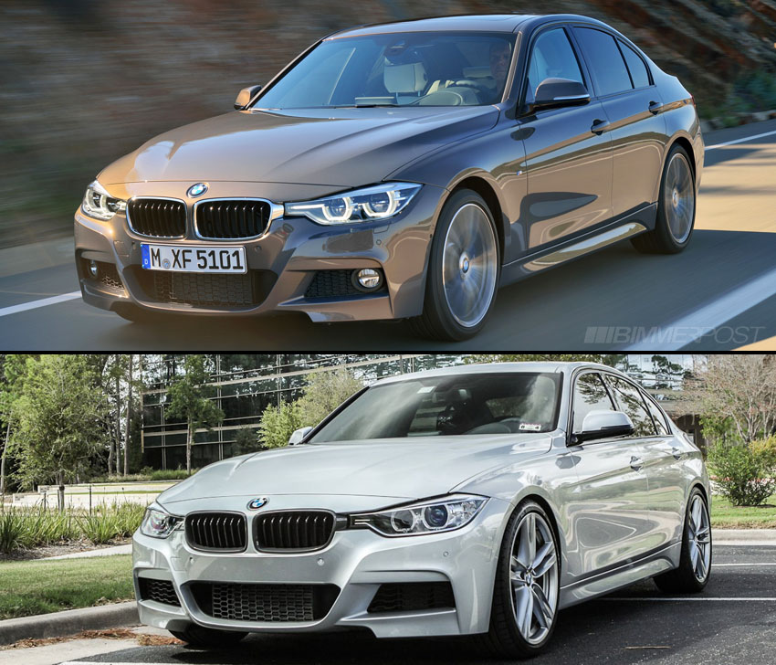 A Visual Comparison Of F30 3 Series Lci Versus Pre Lci