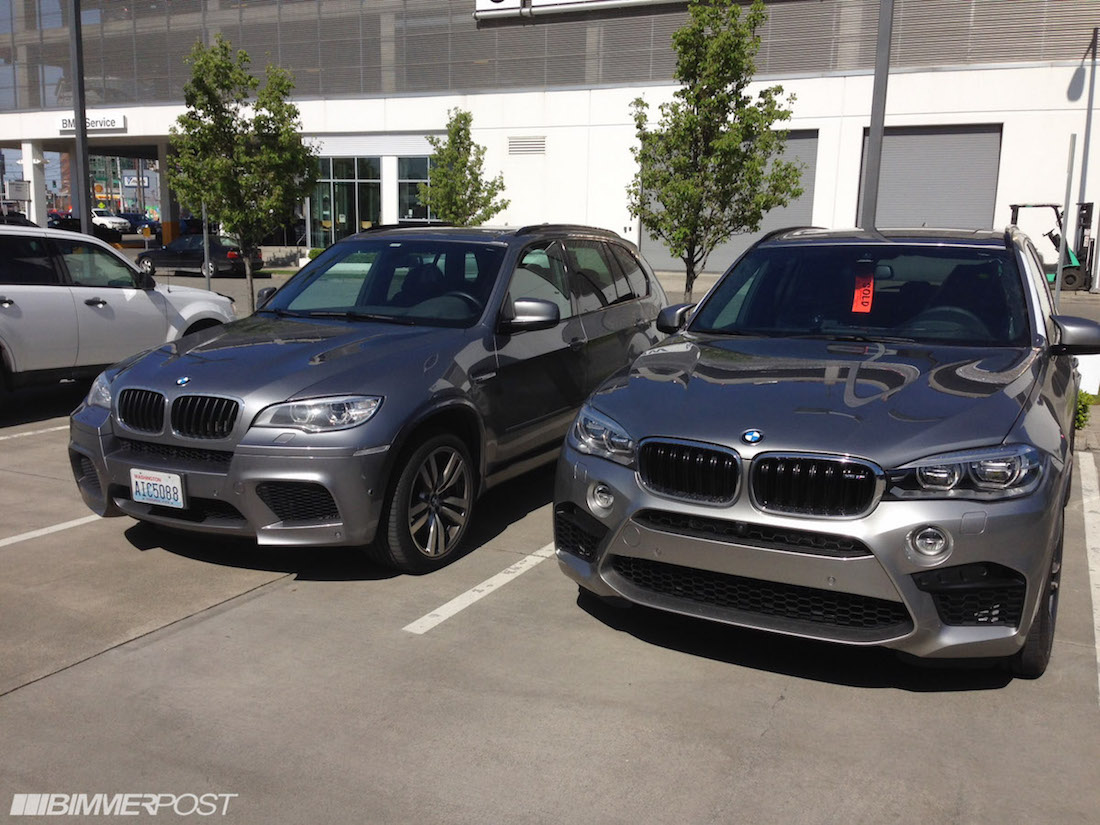 Comparison Donnington Gray 2015 X5m And Space Gray 2013 X5m