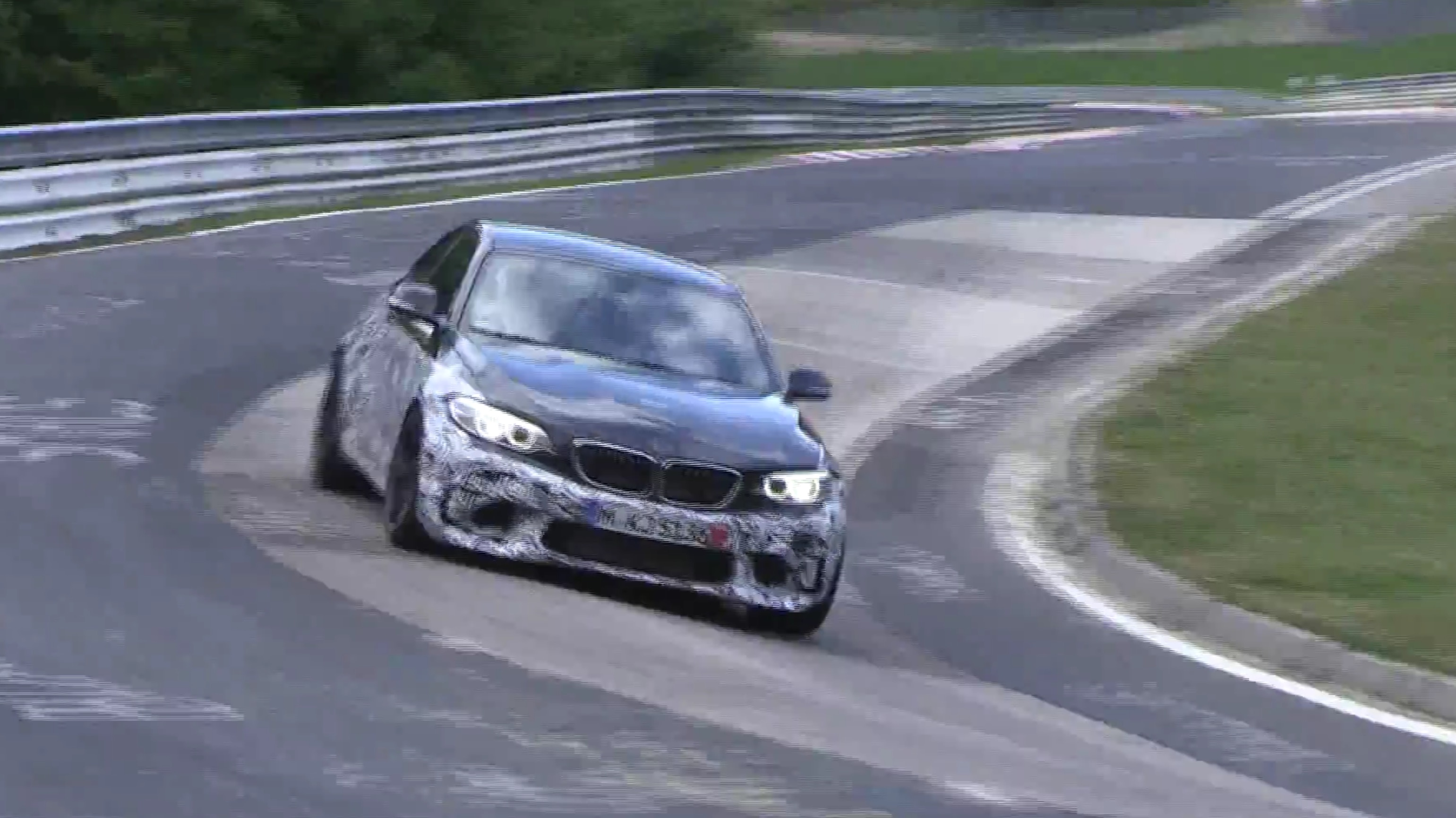 [VIDEO] And M2 returns to the Nurburgring