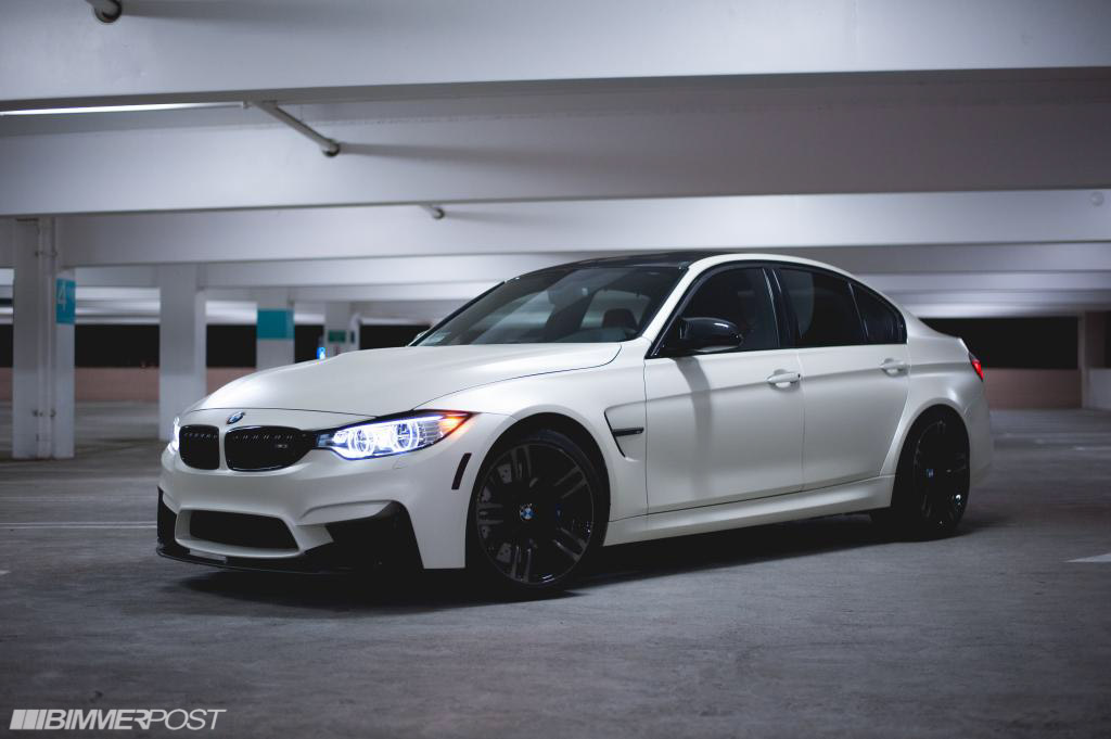 Satin Pearl White F80 Photoshoot Lots Of Pictures