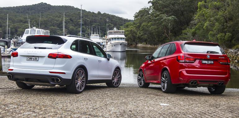 2015 Bmw X5 M F85 Vs Porsche Cayenne Turbo Comparison