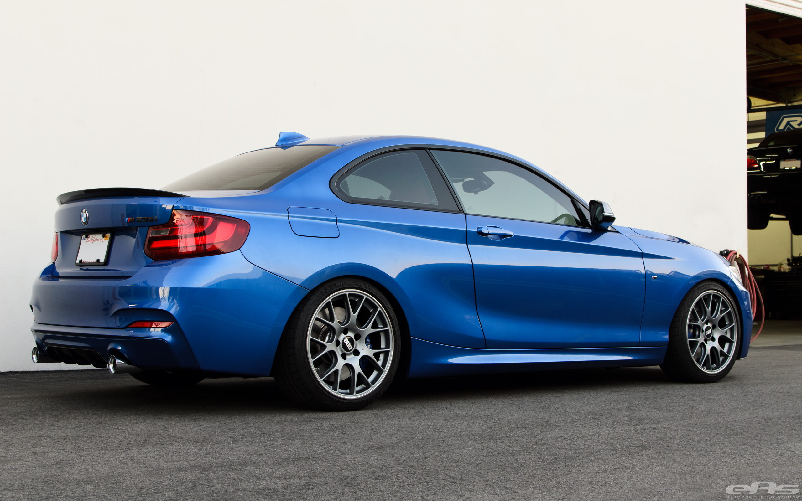 Estoril Blue M235i Gets Transformed Bbs And M Performance Parts
