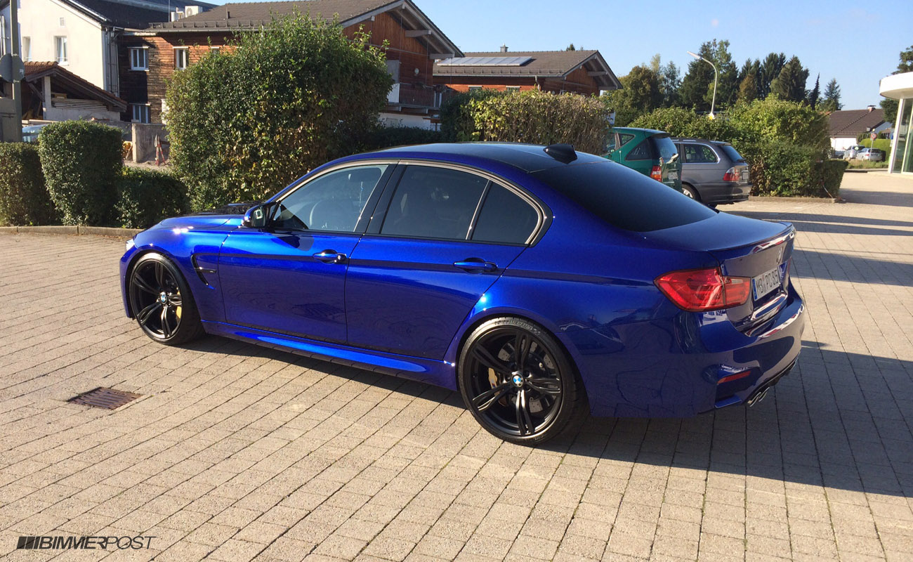 Individual San Marino Blue F80 M3 With Cohiba Brown Interior