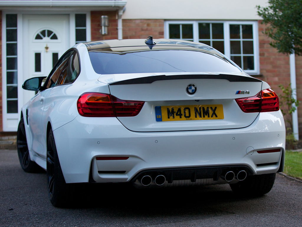 Cut From Cocaine Gt Alpine White M4 With M Performance Carbon