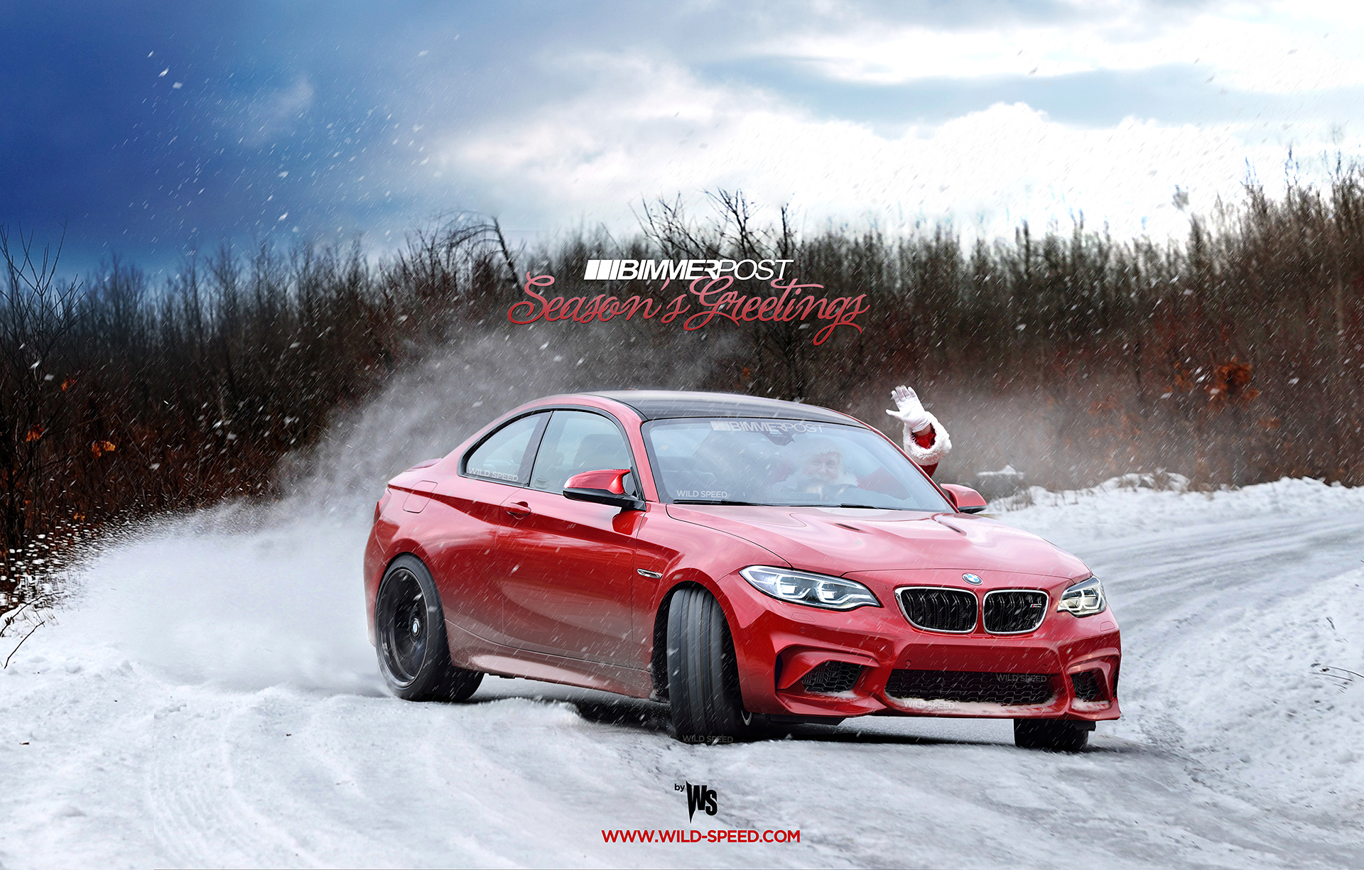 Seasons Greetings From Bimmerpost And Santa In His Bmw M2