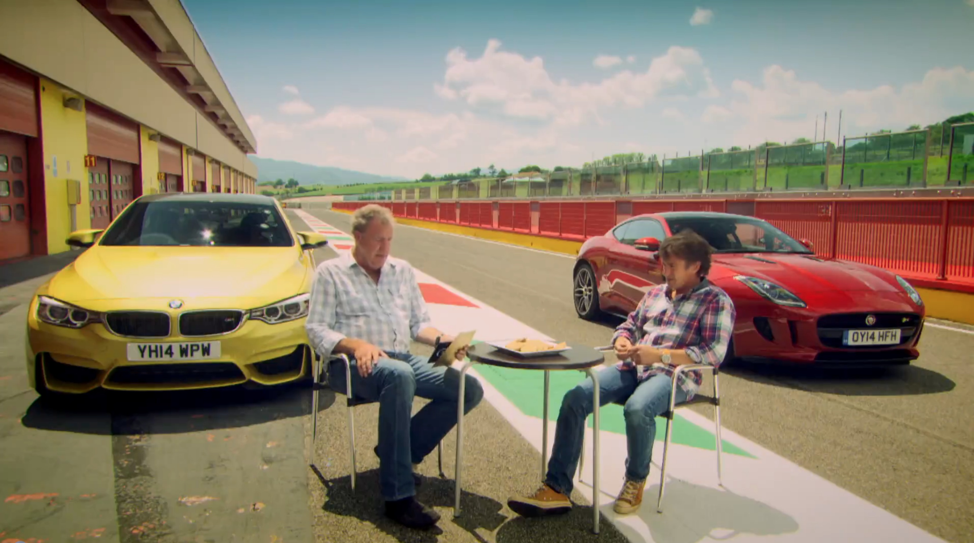 M4 Featured In Top Gear Perfect Roadtrip Special Vs Jag F Type R (Clarkson  Review)