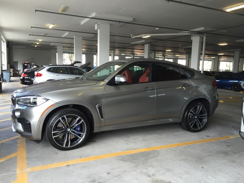 Donington Grey X6m In The Flesh