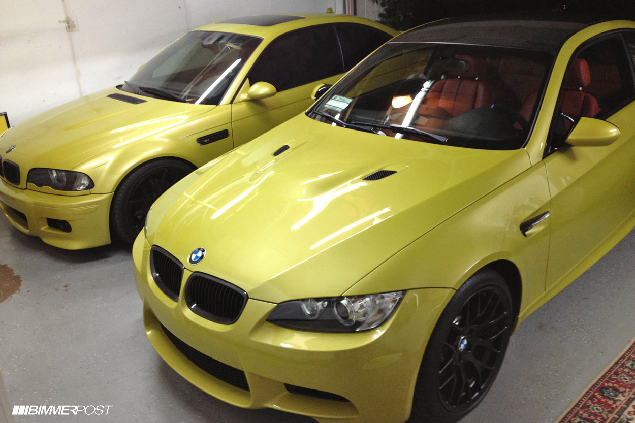 2013 Phoenix Yellow Individual Fox Red E92 M3
