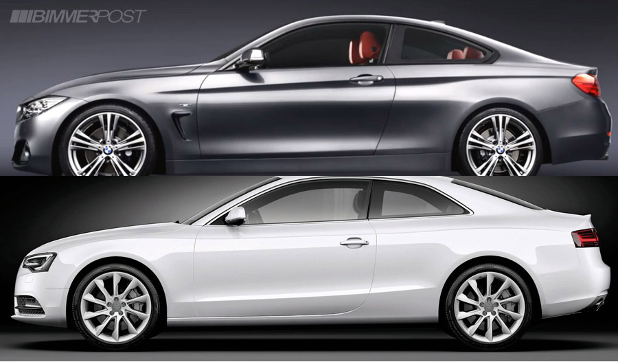 Comparo BMW 4 Series Coupe versus Audi A5  S5  Page 4