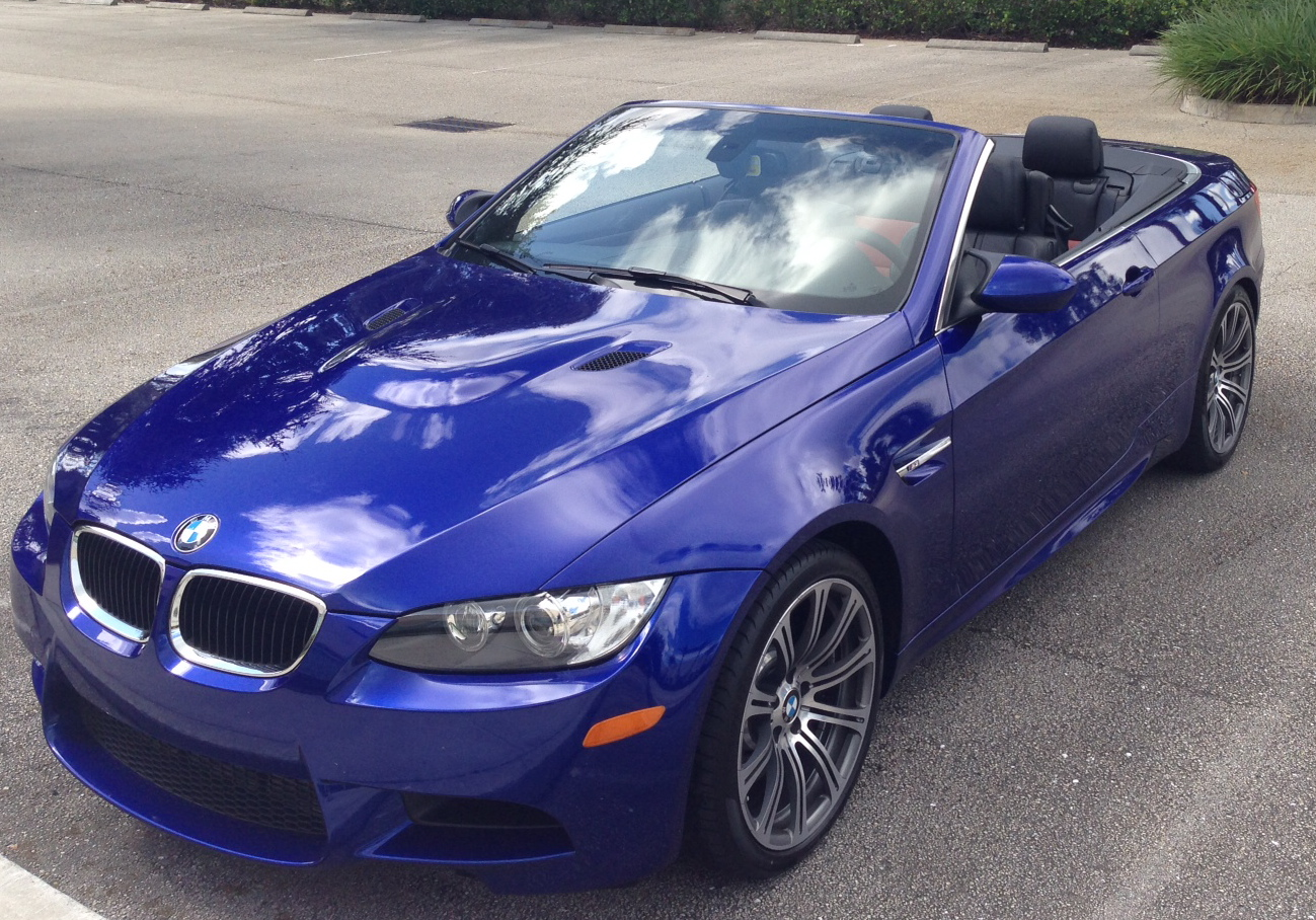 My New E93 M3 In San Marino Blue Individual Black Fox