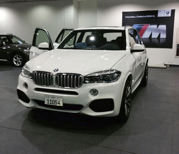 Bmw X7 2015: My X5 50i M Sport Delivered