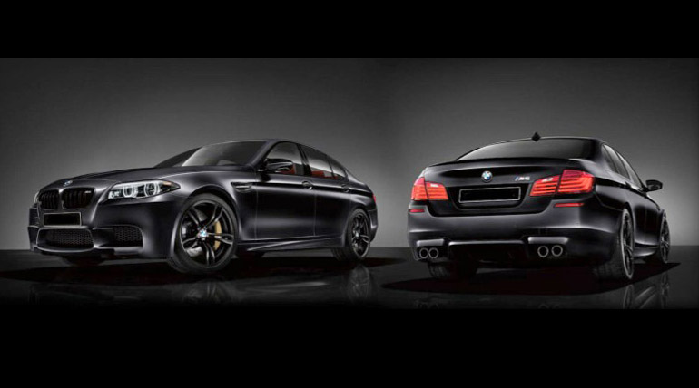 2014 Limited Production M5/M6 for Canada, in Frozen Black or Santorini Blue II