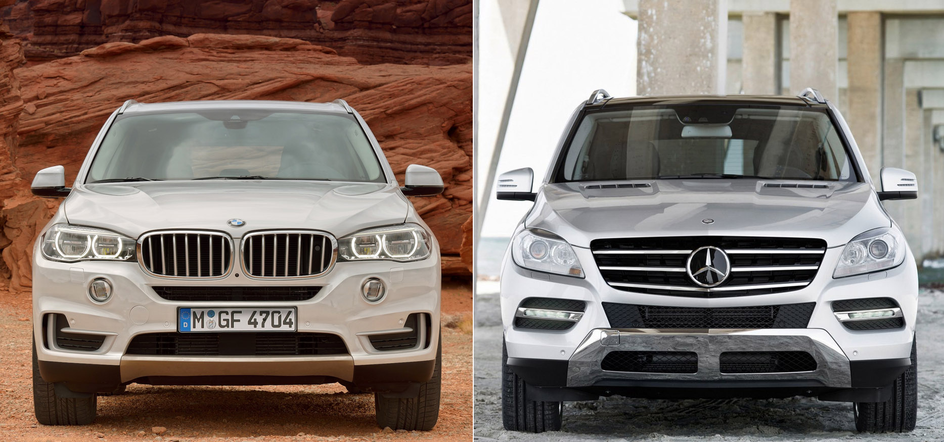 2014 Bmw X5 F15 Vs Mercedes Ml Compared