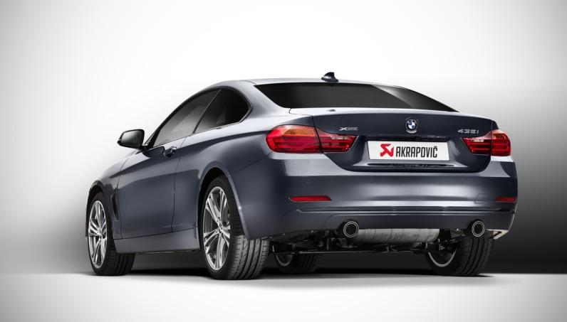 435i Akrapovic Evolution Exhaust Announced