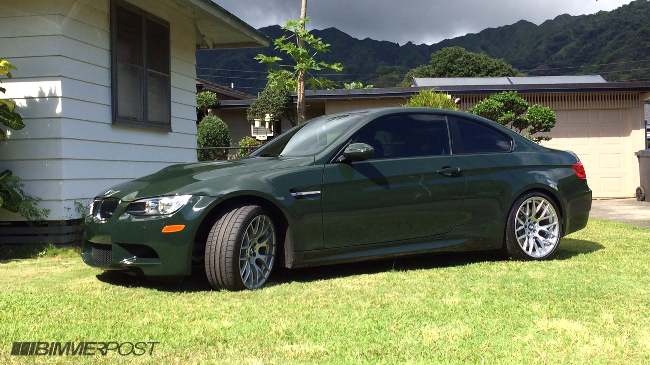 Brewster Green Individual 2013 M3 Coupe