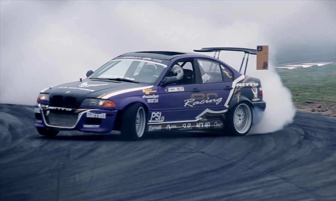 PSI built Turbo E46 Drift Car competes in the second round ...