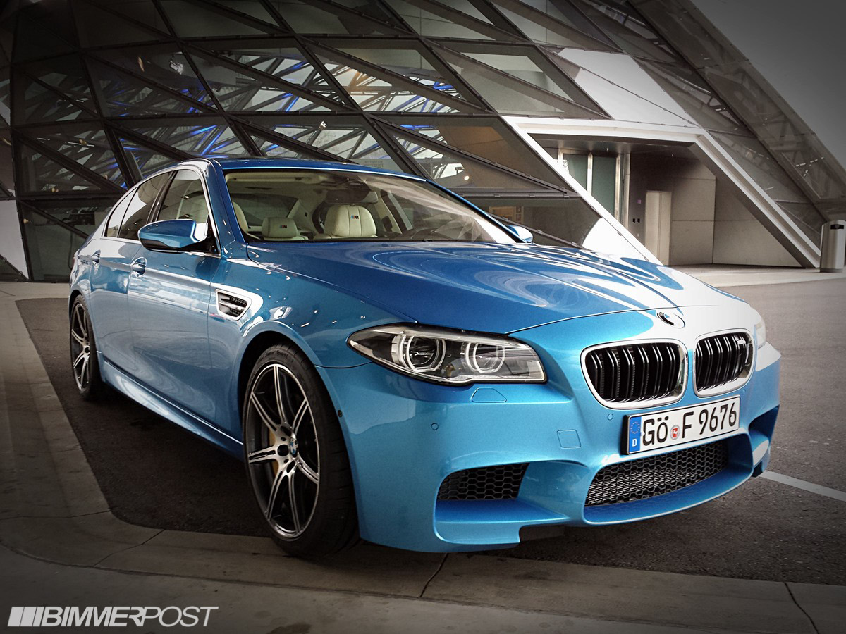 Loaded F10 M5 Individual In Special One Off Blue Paint