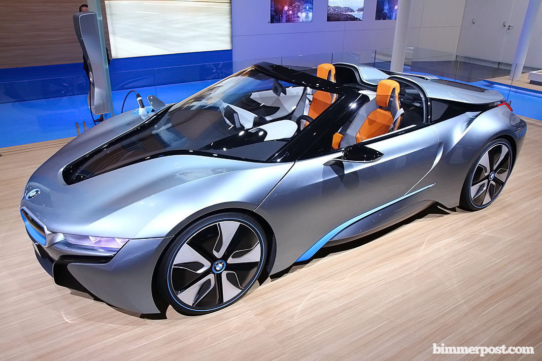 Bmw I8 Roadster Wins North American Concept Car Of The