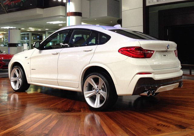 Custom Bmw X4 M Sport With Quad Exhaust Wheels Bmw Abu