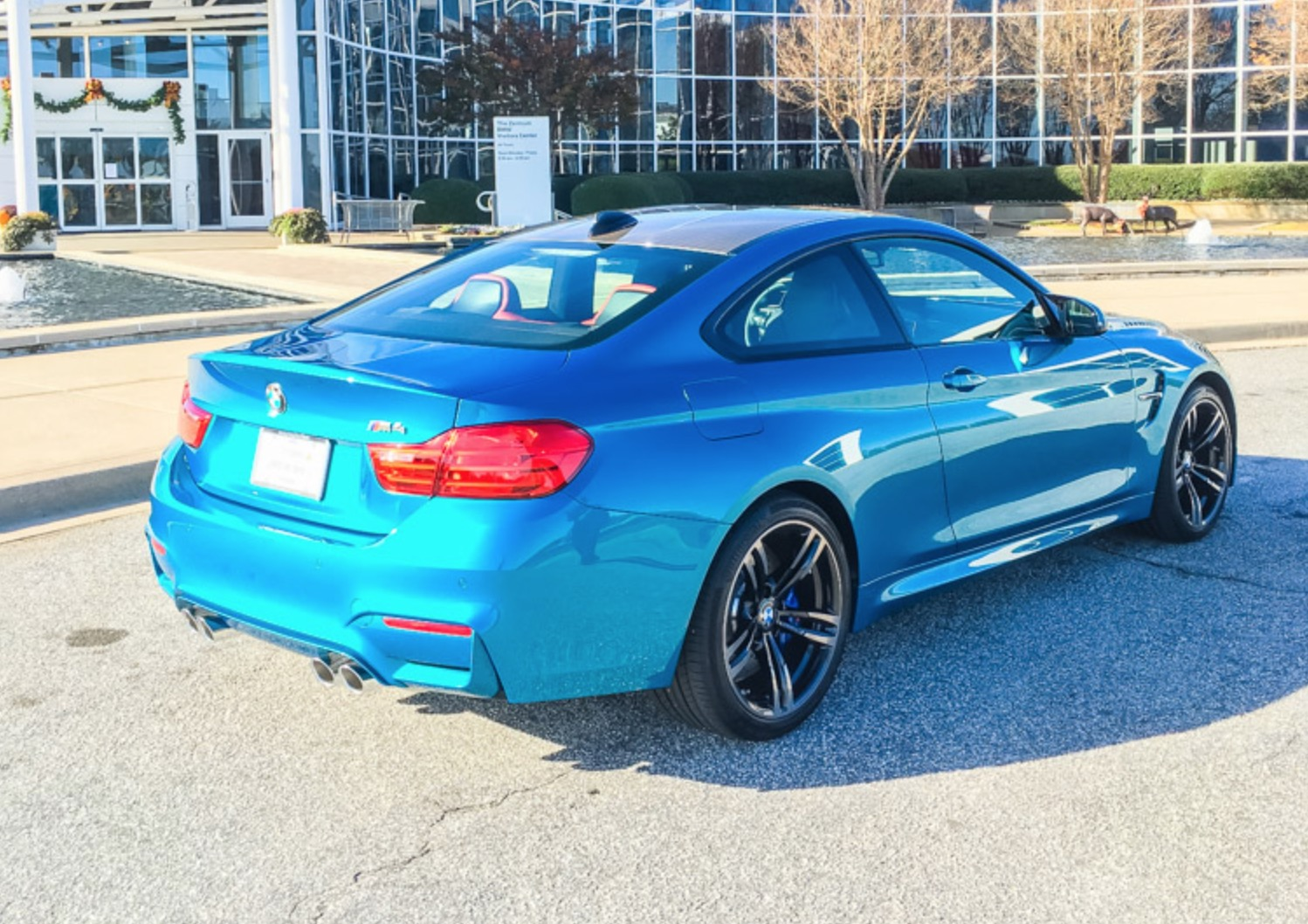 2016 Bmw Individual Atlantis Blue M4 Updated New Photoshoot